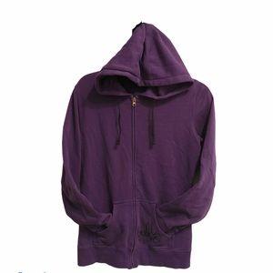 Firefly Purple Hoodie Full Zipper w/pockets  Med
